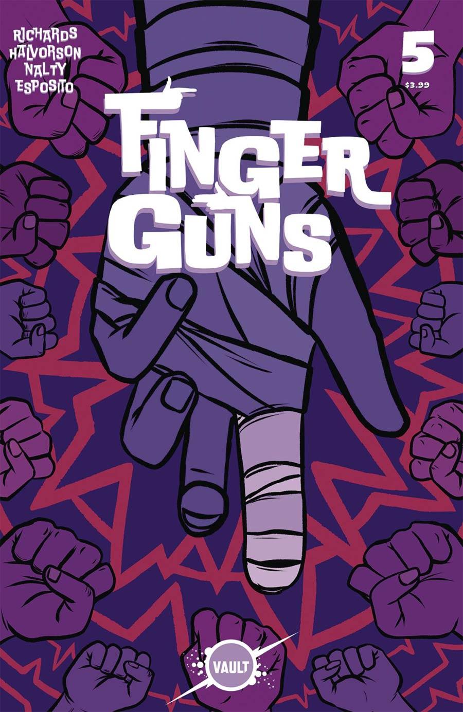 Finger Guns #5 Cover A Regular Val Halvorson Cover