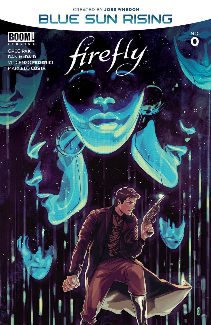 Firefly Blue Sun Rising Alpha #0 Cover A Regular Nimit Malavia Cover