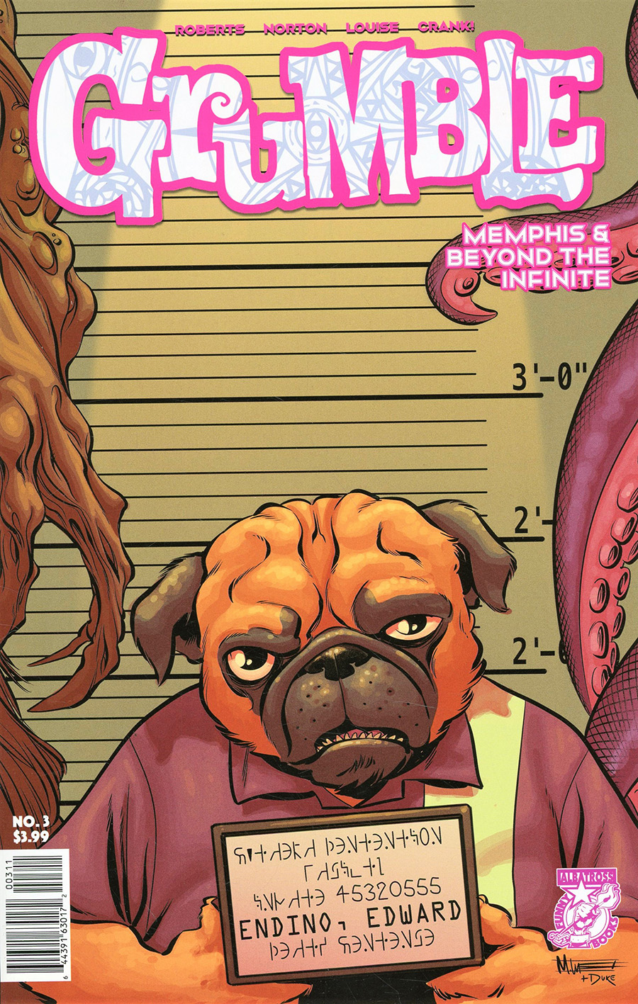 Grumble Memphis And Beyond The Infinite #3