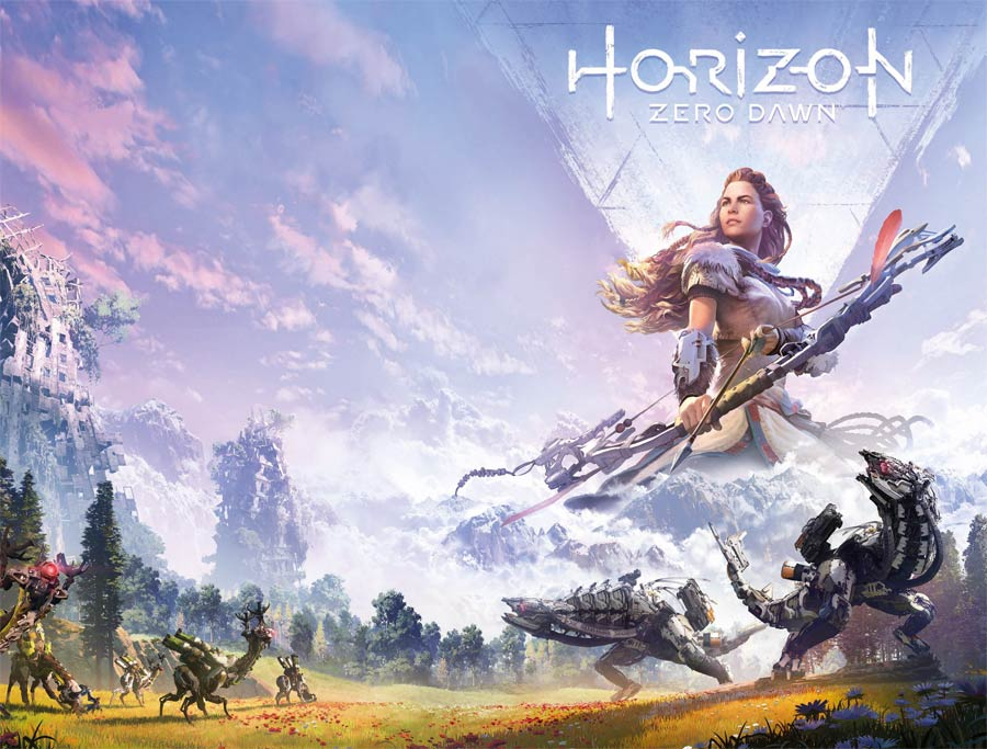 Horizon Zero Dawn #2 Cover B Variant Game Art Wraparound Cover