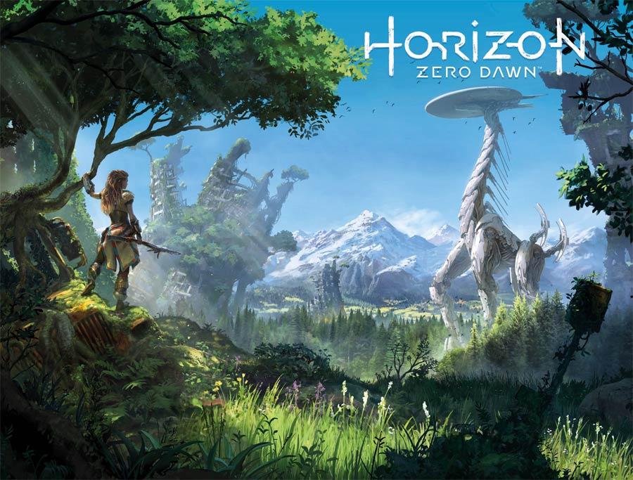 Horizon Zero Dawn #3 Cover B Variant Game Art Wraparound Cover