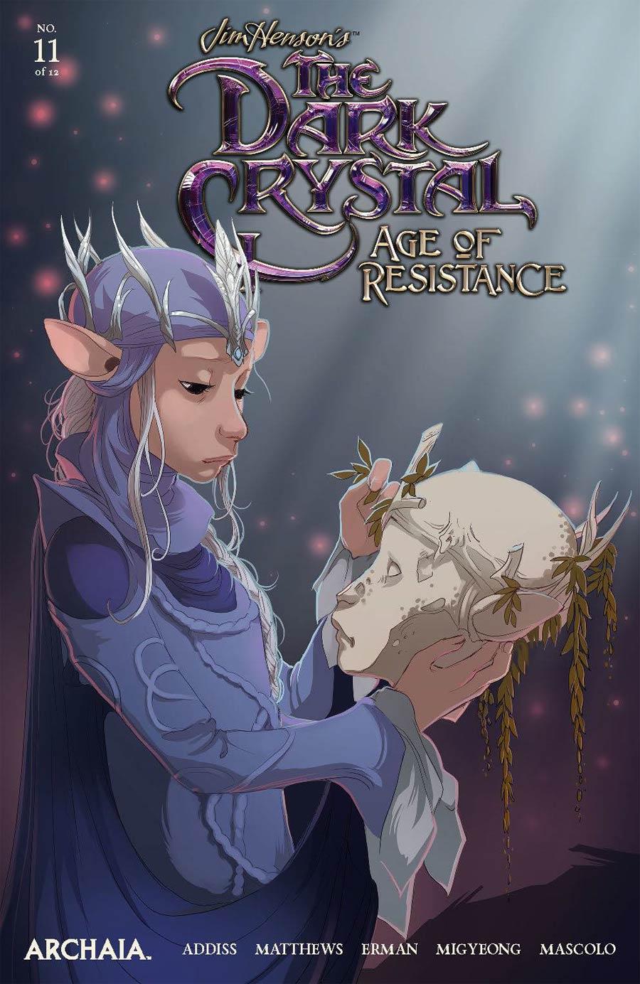 Jim Hensons Dark Crystal Age Of Resistance #11 Cover A Regular Mona Finden Cover