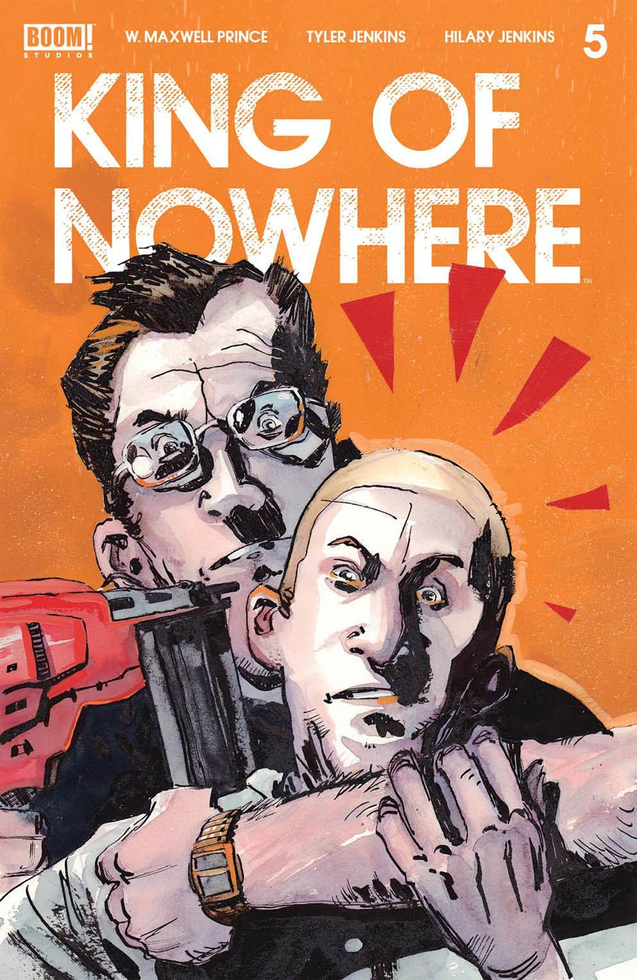 King Of Nowhere #5 Cover A Regular Tyler Jenkins Cover
