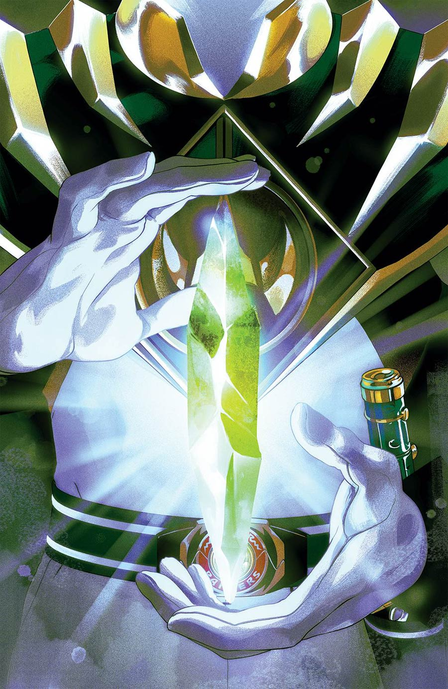 Mighty Morphin Power Rangers (BOOM Studios) #54 Cover B Variant Goni Montes Foil Cover