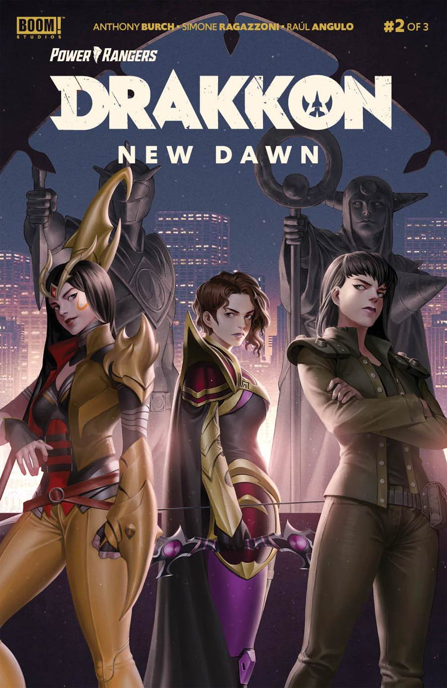 Power Rangers Drakkon New Dawn #2 Cover A Regular Jung-Geun Yoon Cover