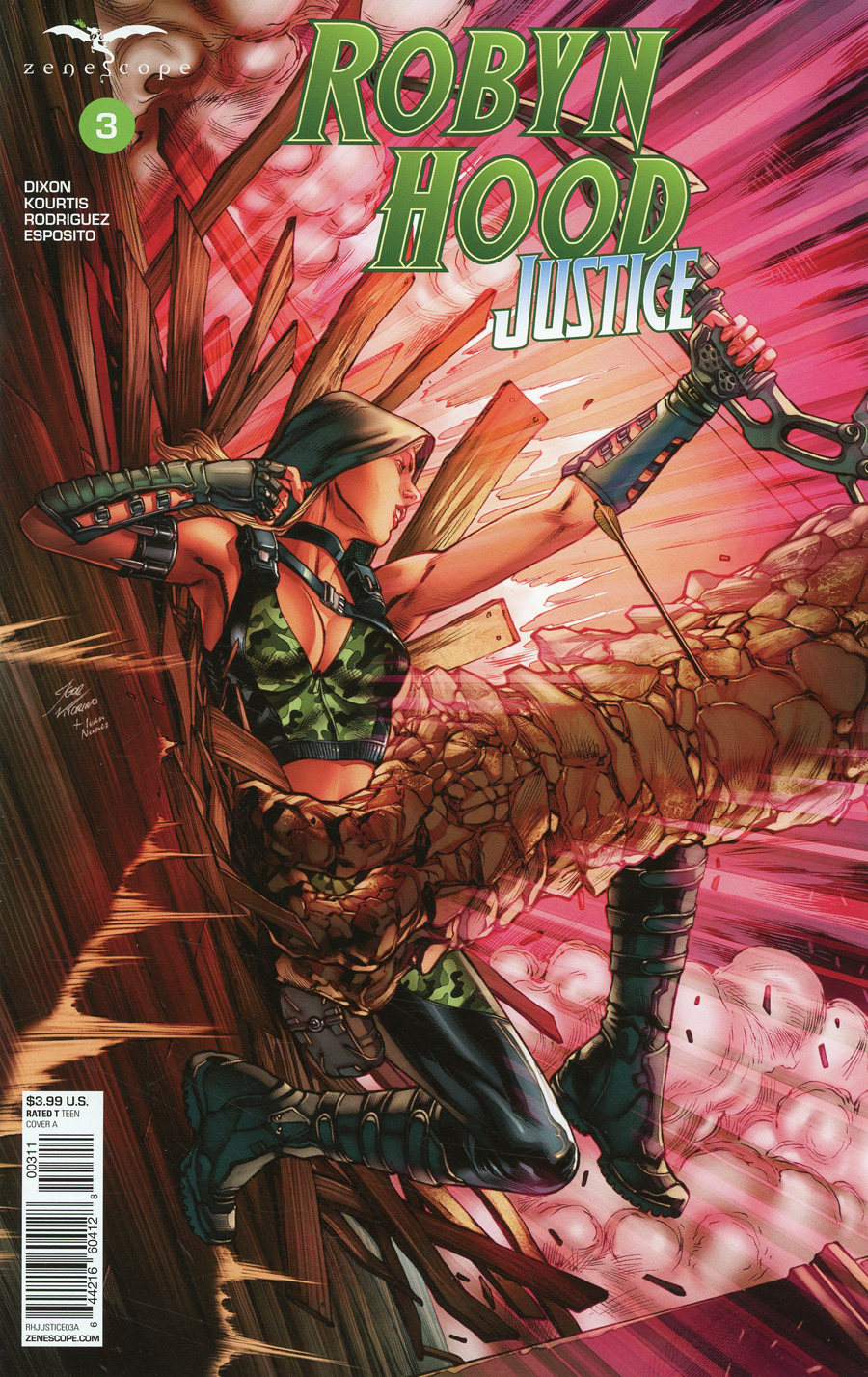 Grimm Fairy Tales Presents Robyn Hood Justice #3 Cover A Igor Vitorino