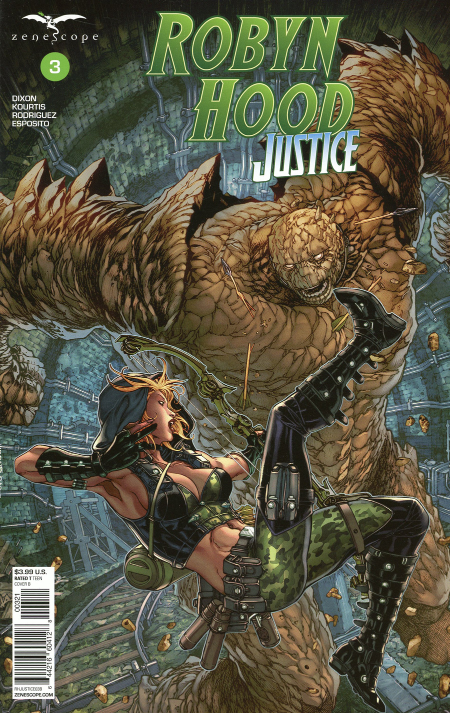 Grimm Fairy Tales Presents Robyn Hood Justice #3 Cover B Harvey Tolibao