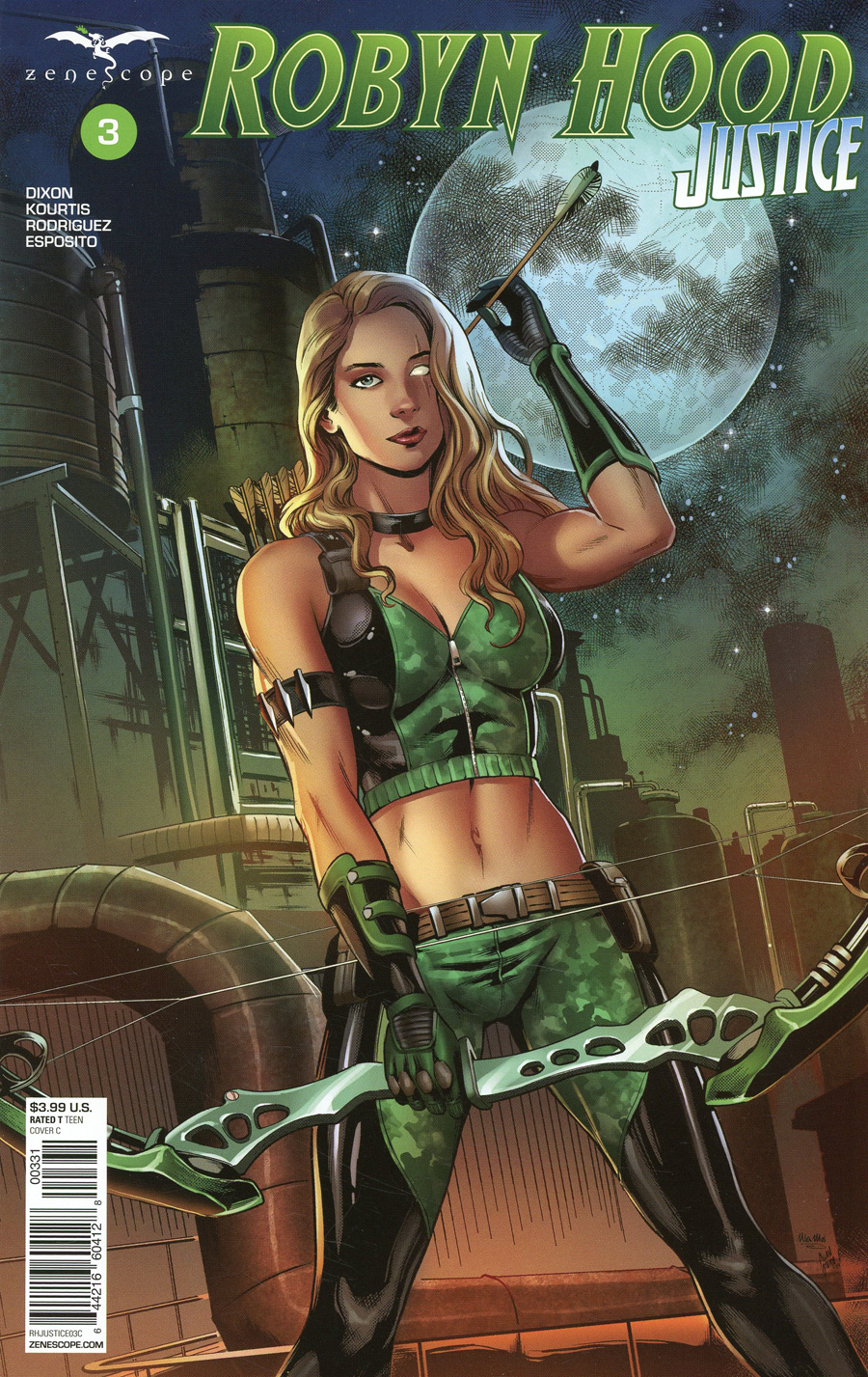 Grimm Fairy Tales Presents Robyn Hood Justice #3 Cover C Allan Otero