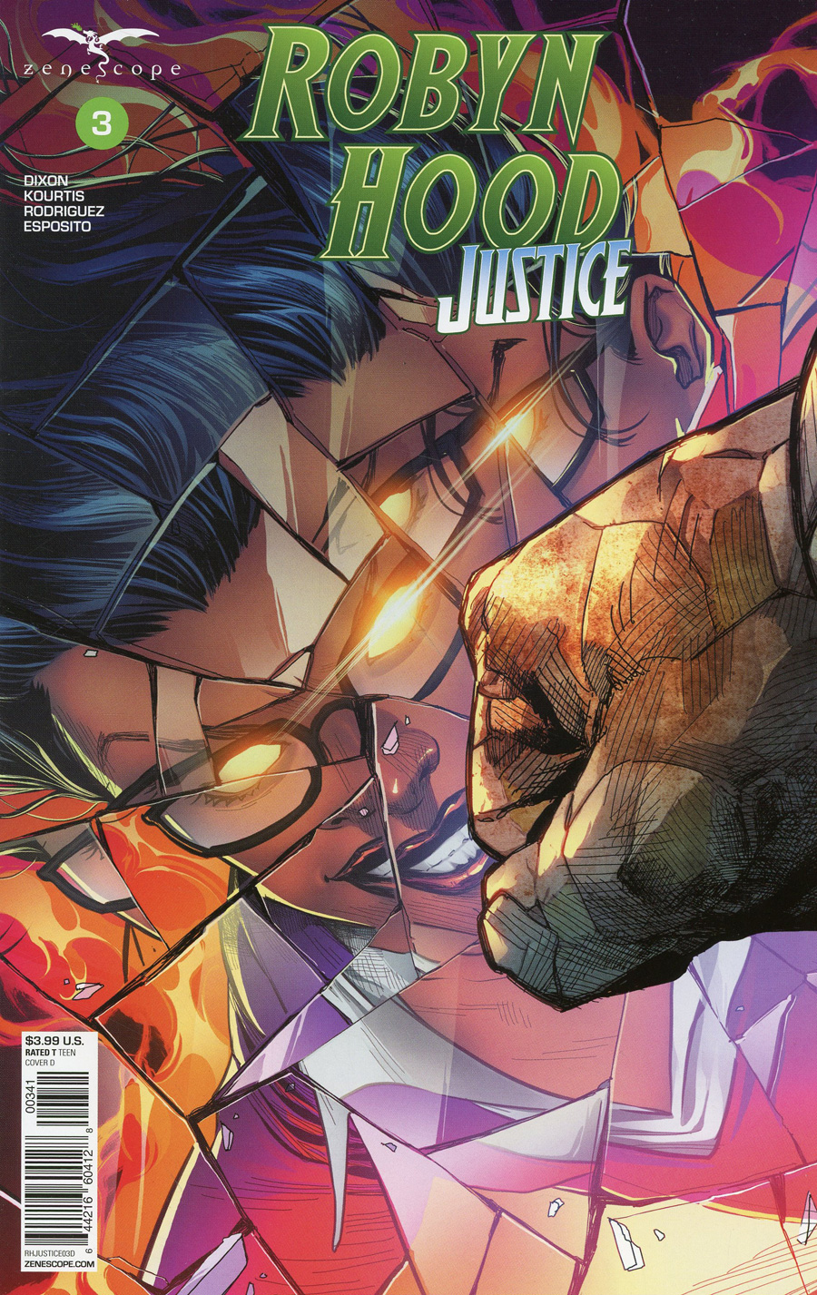 Grimm Fairy Tales Presents Robyn Hood Justice #3 Cover D Martin Coccolo