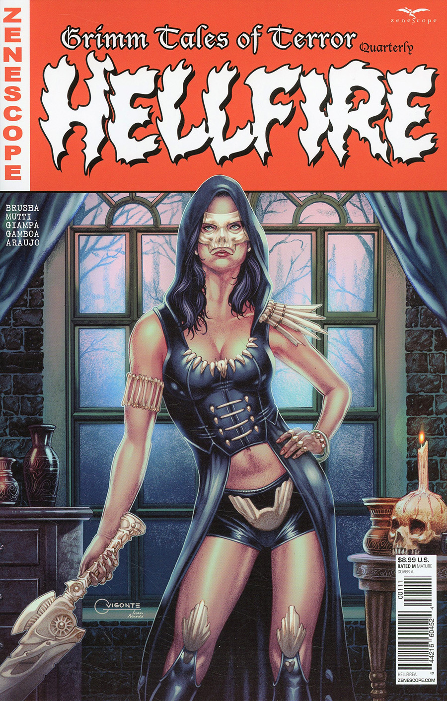Grimm Fairy Tales Presents Grimm Tales Of Terror Quarterly #1 Hellfire Cover A Geebo Vigonte
