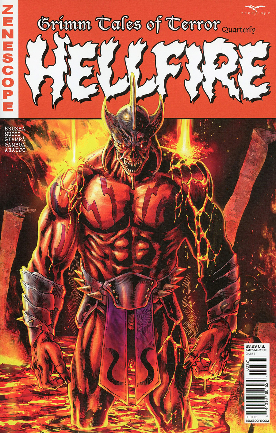 Grimm Fairy Tales Presents Grimm Tales Of Terror Quarterly #1 Hellfire Cover B Igor Vitorino