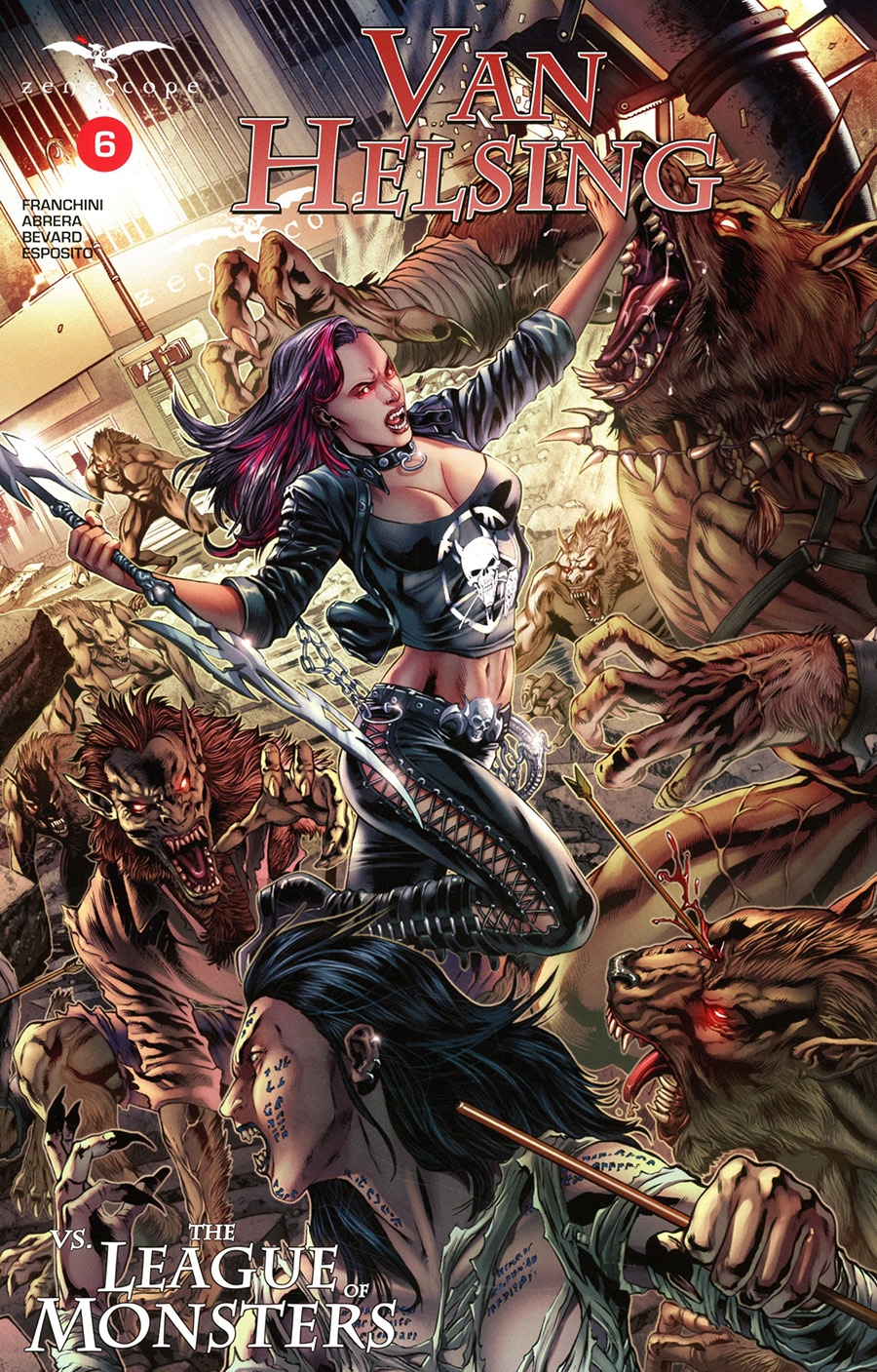 Grimm Fairy Tales Presents Van Helsing vs The League Of Monsters #6 Cover B Igor Vitorino