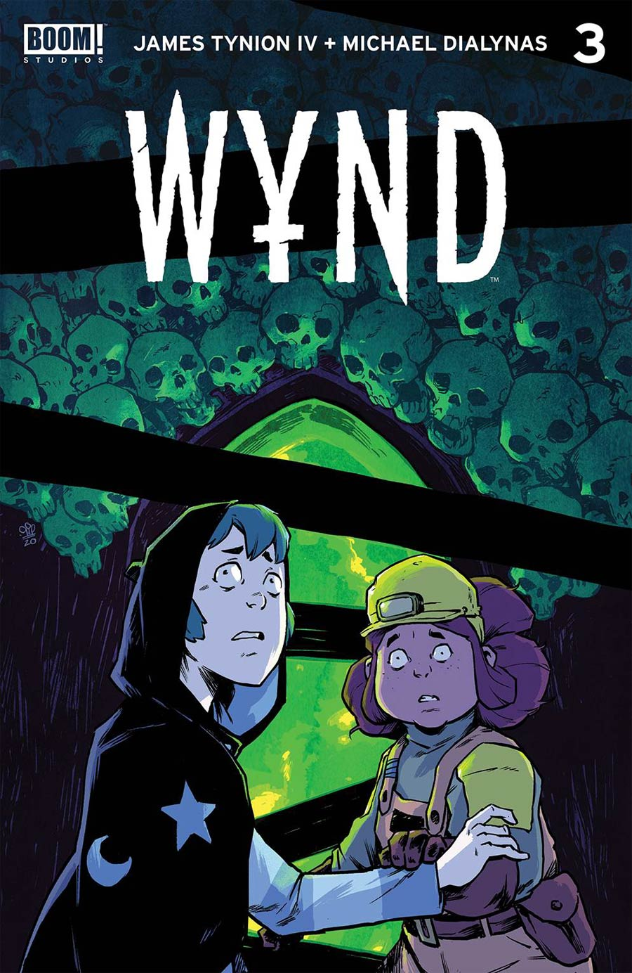Wynd #3 Cover A 1st Ptg Regular Michael Dialynas Cover
