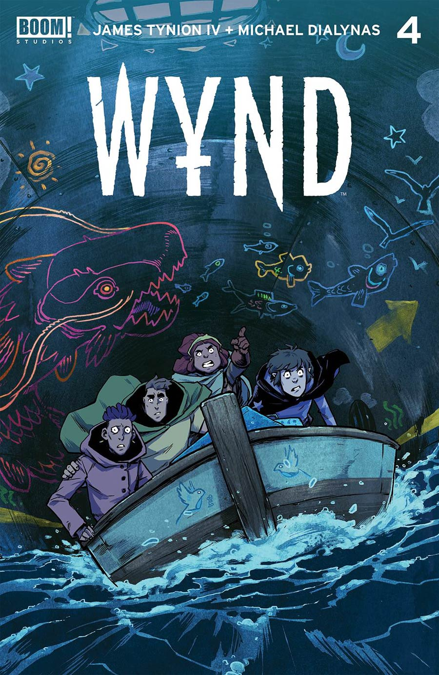 Wynd #4 Cover A Regular Michael Dialynas Cover