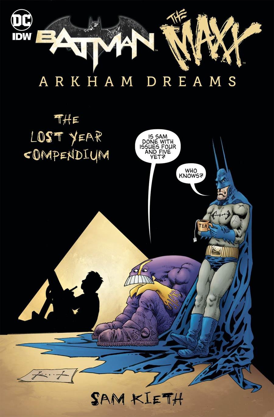 Batman The MAXX Arkham Dreams Lost Year Compendium