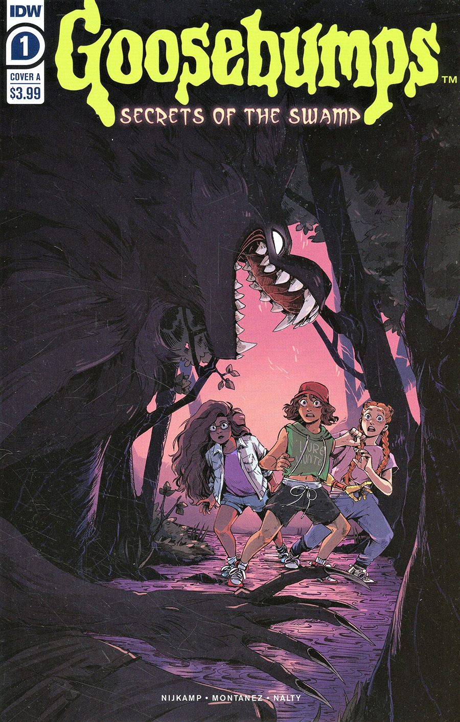 Goosebumps Secrets Of The Swamp #1 Cover A Regular Bill Underwood Cover