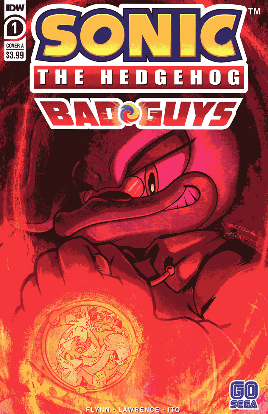 Sonic The Hedgehog Bad Guys #1 Cover A Regular Aaron Hammerstrom Cover
