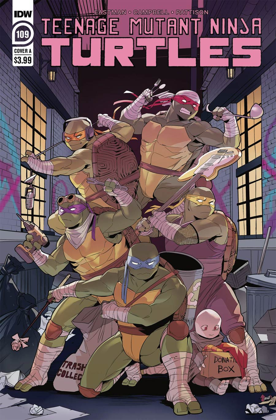 Teenage Mutant Ninja Turtles Vol 5 #109 Cover A Regular Jodi Nishijima Cover