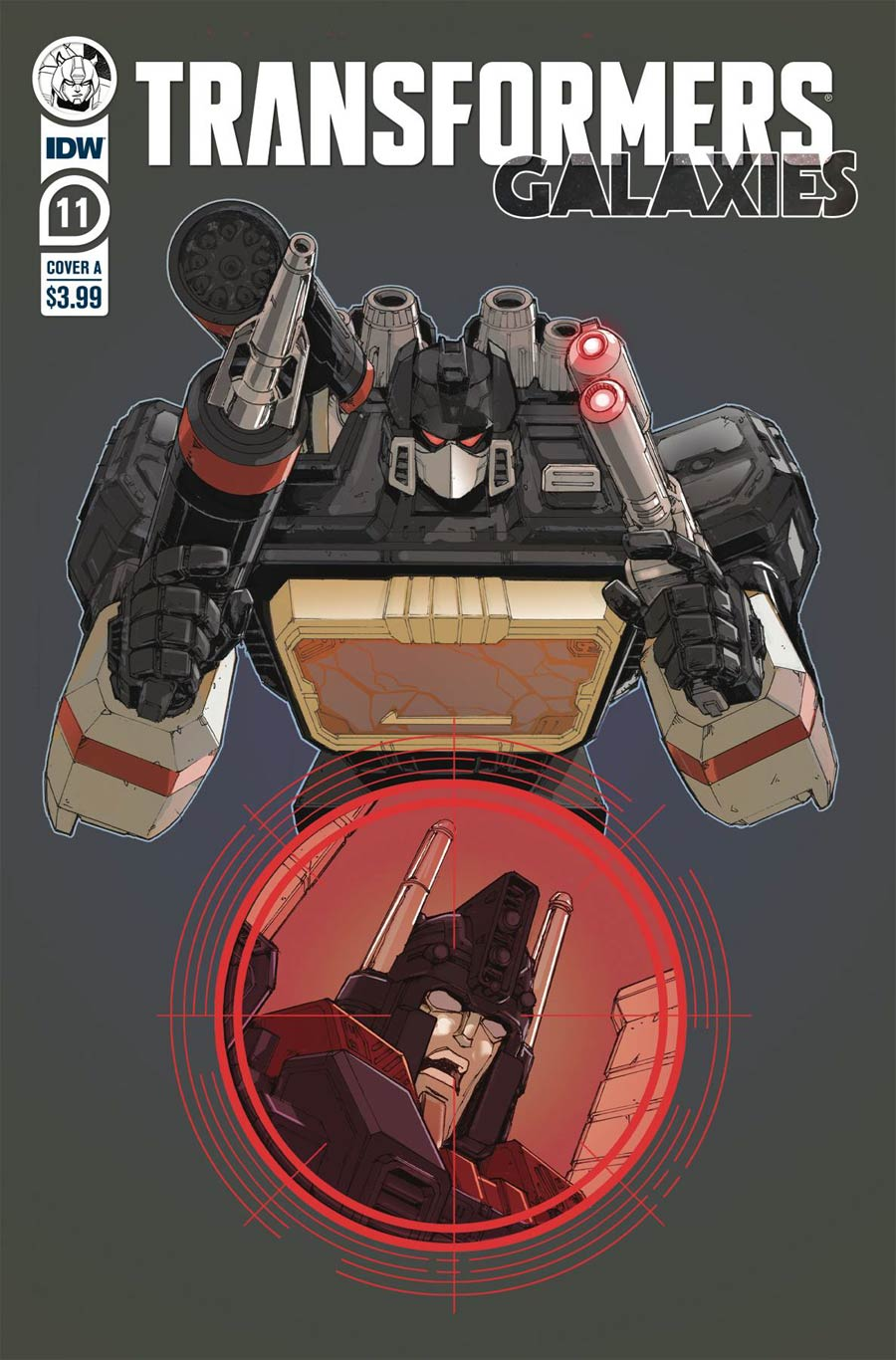 Transformers Galaxies #11 Cover A Regular Andrew Griffith Cover