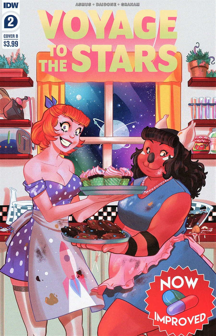 Voyage To The Stars #2 Cover B Variant Connie Diadone Cover