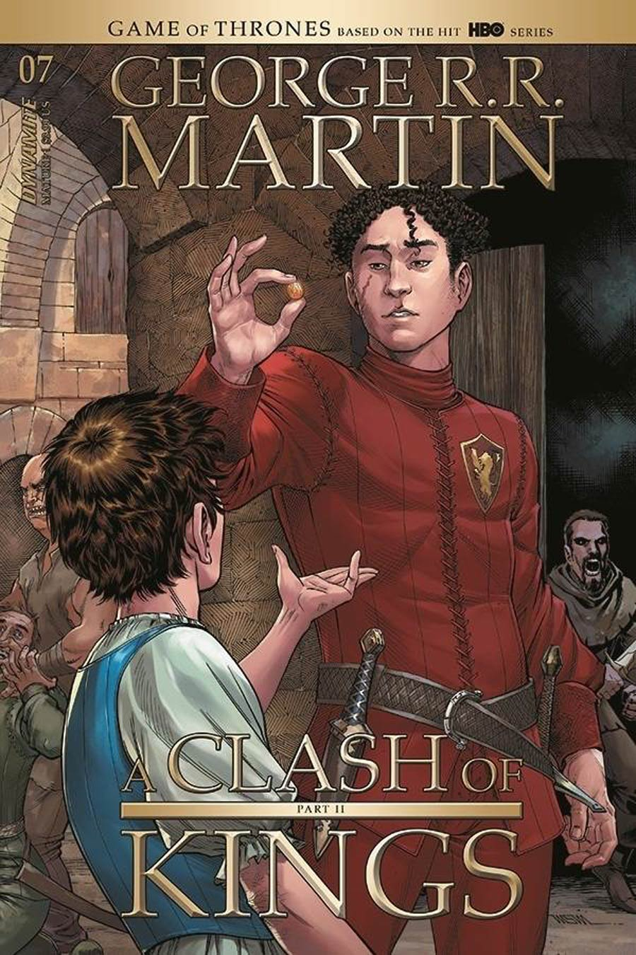 Game Of Thrones Clash Of Kings Vol 2 #7 Cover A Regular Mike Miller Cover