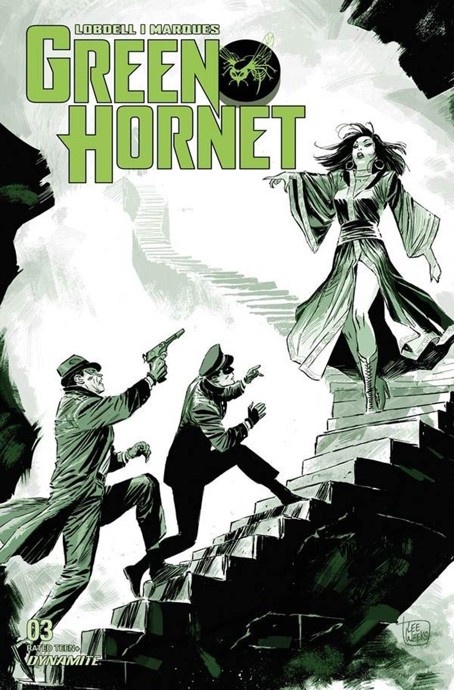 Green Hornet Vol 5 #3 Cover A Regular Lee Weeks Cover