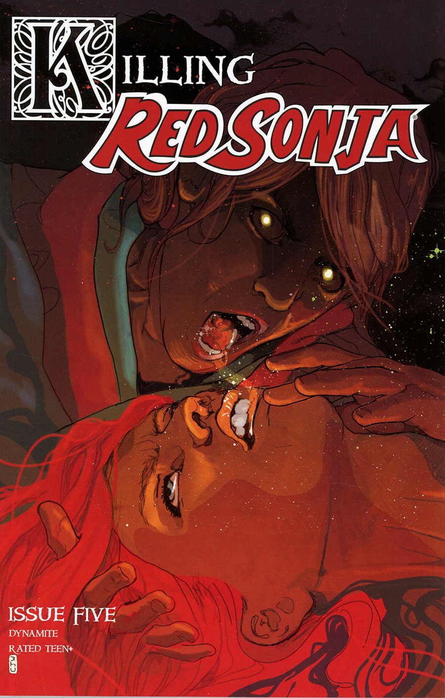 Killing Red Sonja #5 Cover A Regular Christian Ward Cover