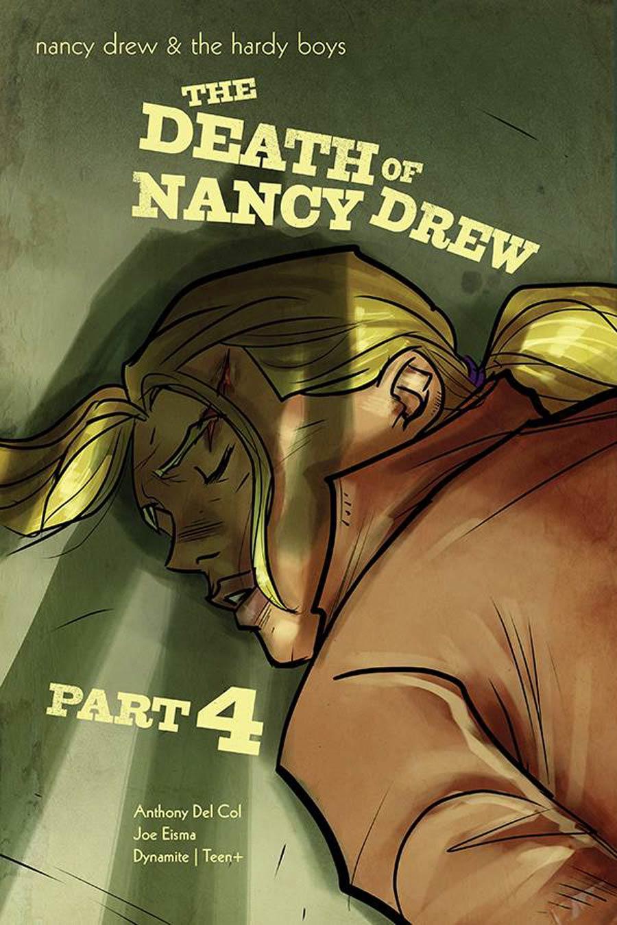 Nancy Drew And The Hardy Boys Death Of Nancy Drew #4 Cover A Regular Joe Eisma Cover