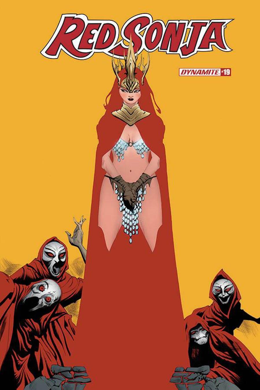 Red Sonja Vol 8 #19 Cover A Regular Jae Lee Cover