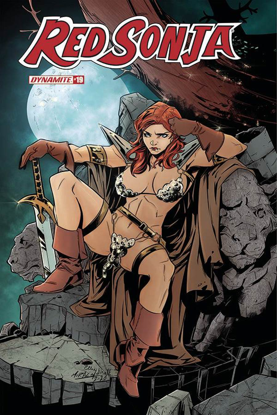 Red Sonja Vol 8 #19 Cover D Variant Alessandro Miracolo Cover