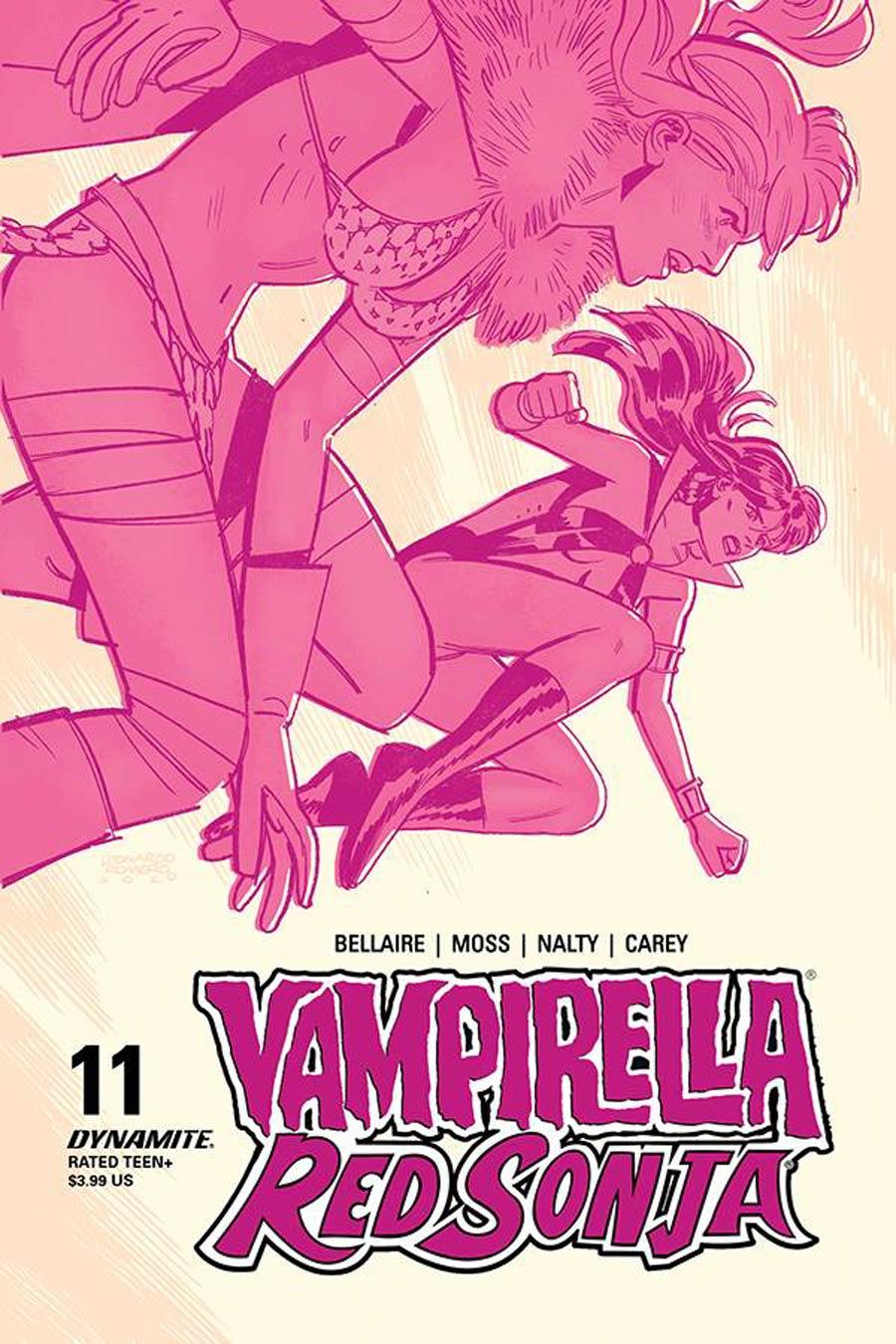 Vampirella Red Sonja #11 Cover C Variant Leonardo Romero & Jordie Bellaire Cover