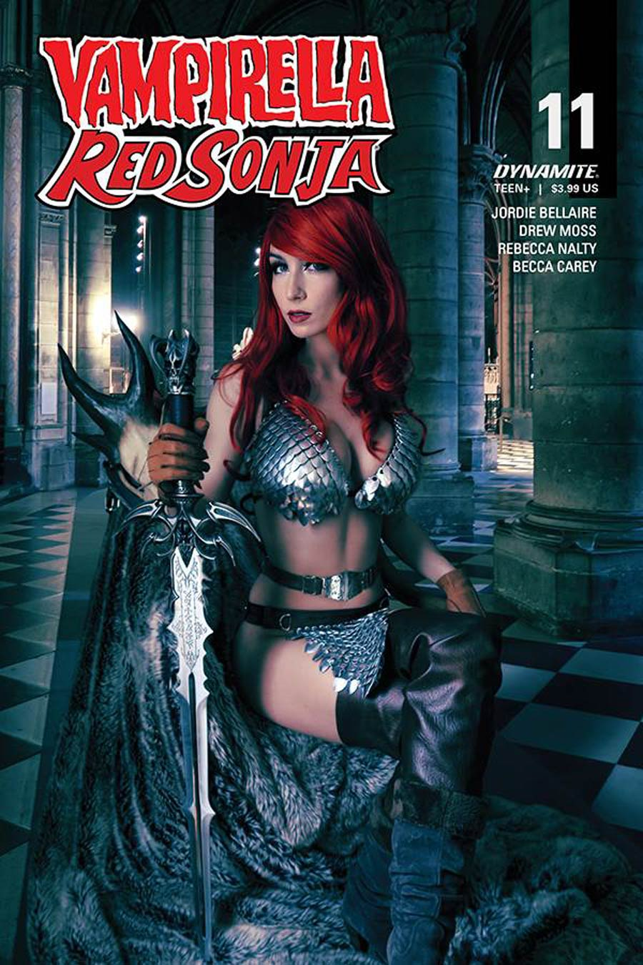 Vampirella Red Sonja #11 Cover D Variant Giulietta Zawadzki Cosplay Photo Cover