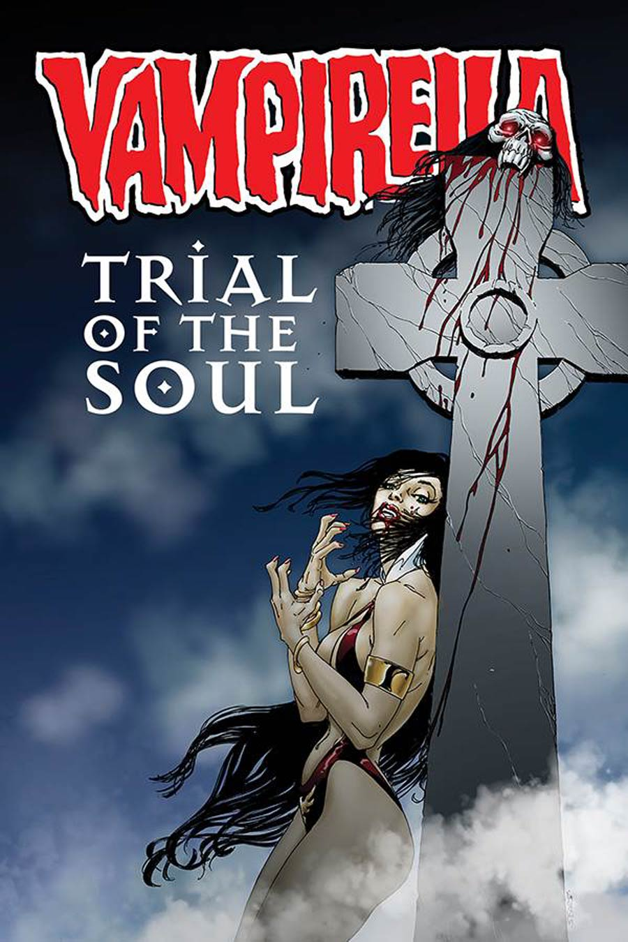 Vampirella Trial Of The Soul One Shot Cover A Regular Bart Sears Cover
