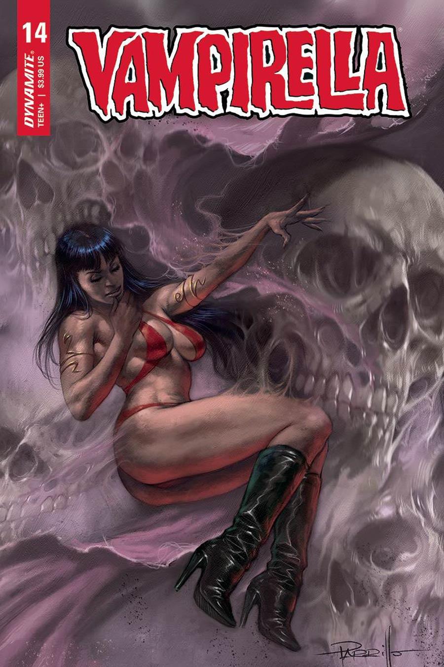 Vampirella Vol 8 #14 Cover A Regular Lucio Parrillo Cover