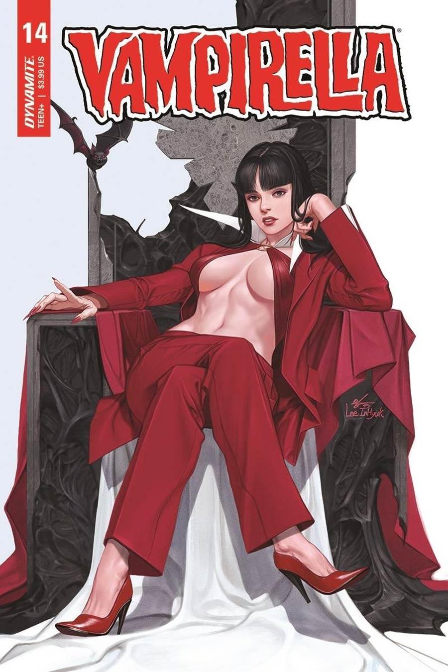 Vampirella Vol 8 #14 Cover B Variant Inhyuk Lee Cover