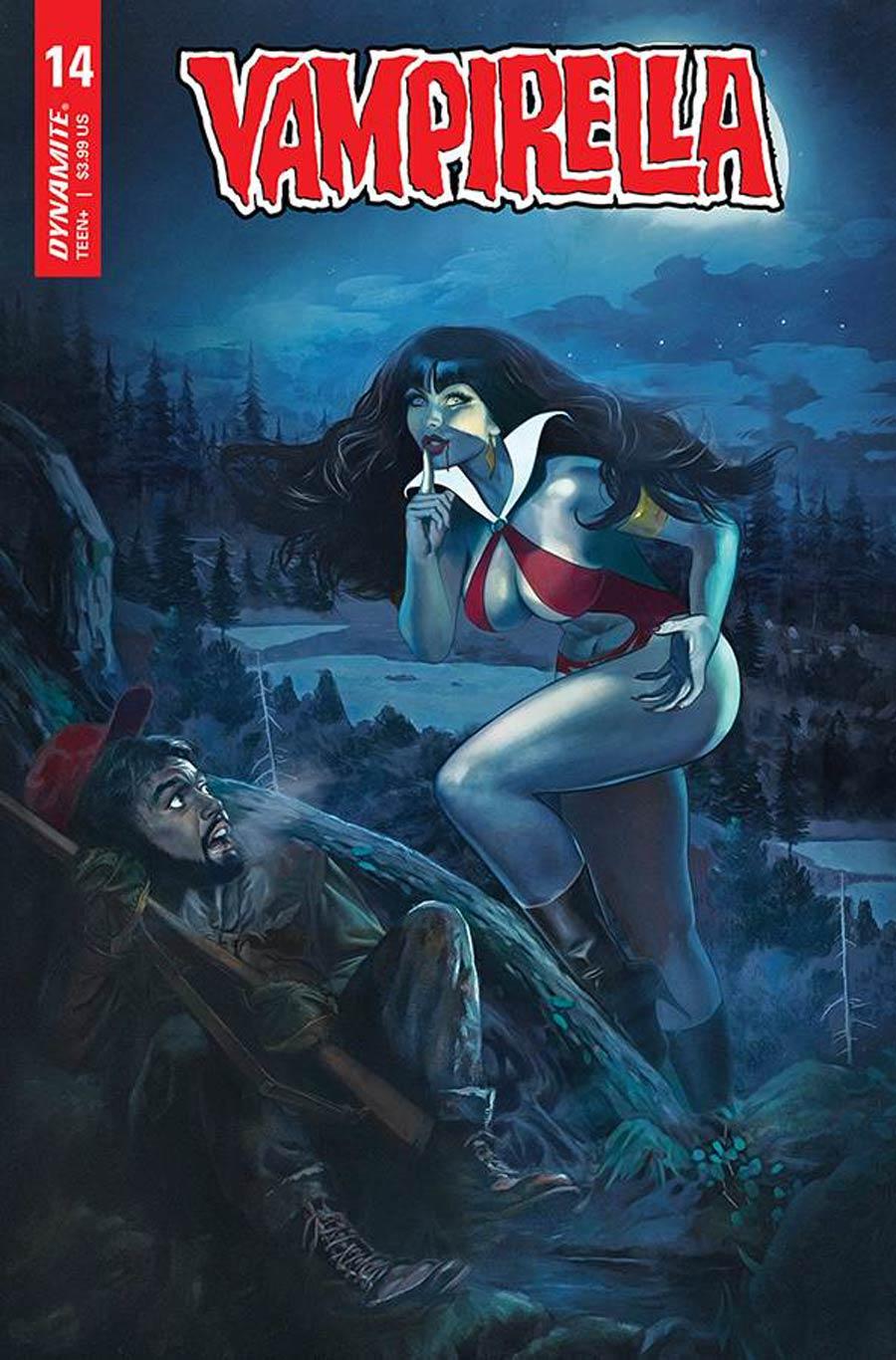 Vampirella Vol 8 #14 Cover C Variant Fay Dalton Cover