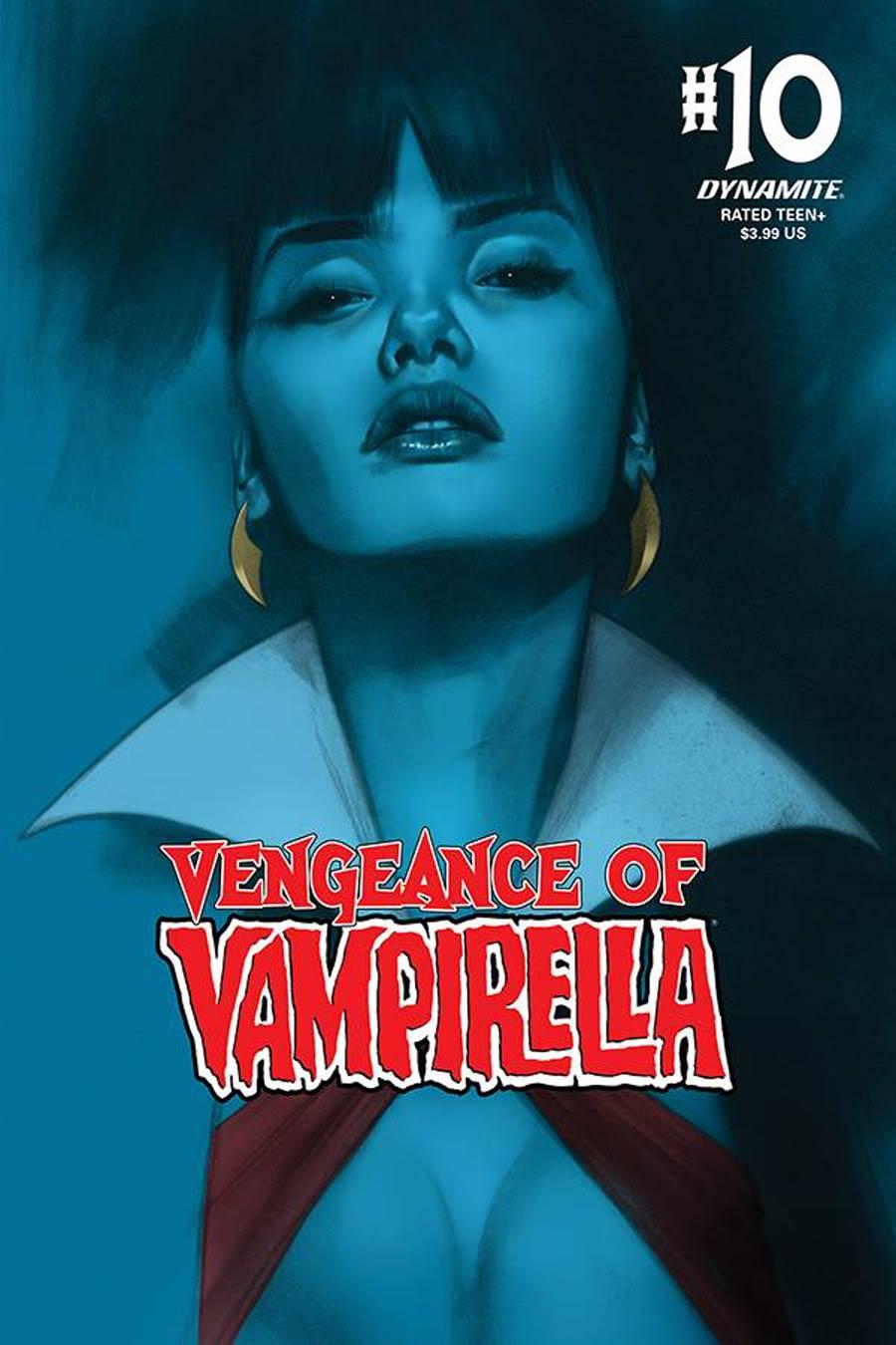 Vengeance Of Vampirella Vol 2 #10 Cover B Variant Ben Oliver Cover
