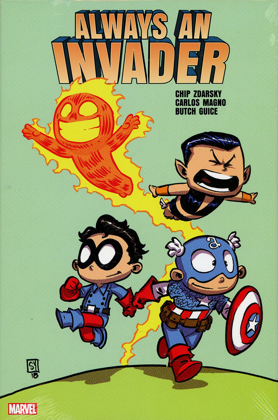 Always An Invader HC Direct Market Skottie Young Variant Cover