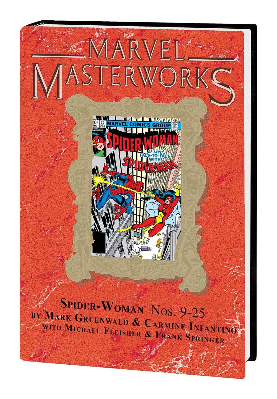 Marvel Masterworks Spider-Woman Vol 2 HC Variant Dust Jacket