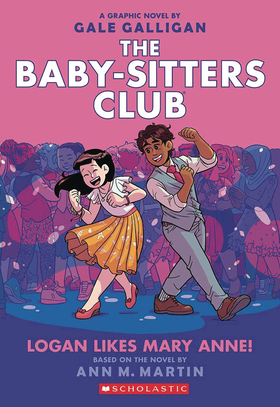 Baby-Sitters Club Color Edition Vol 8 Logan Likes Mary Anne TP