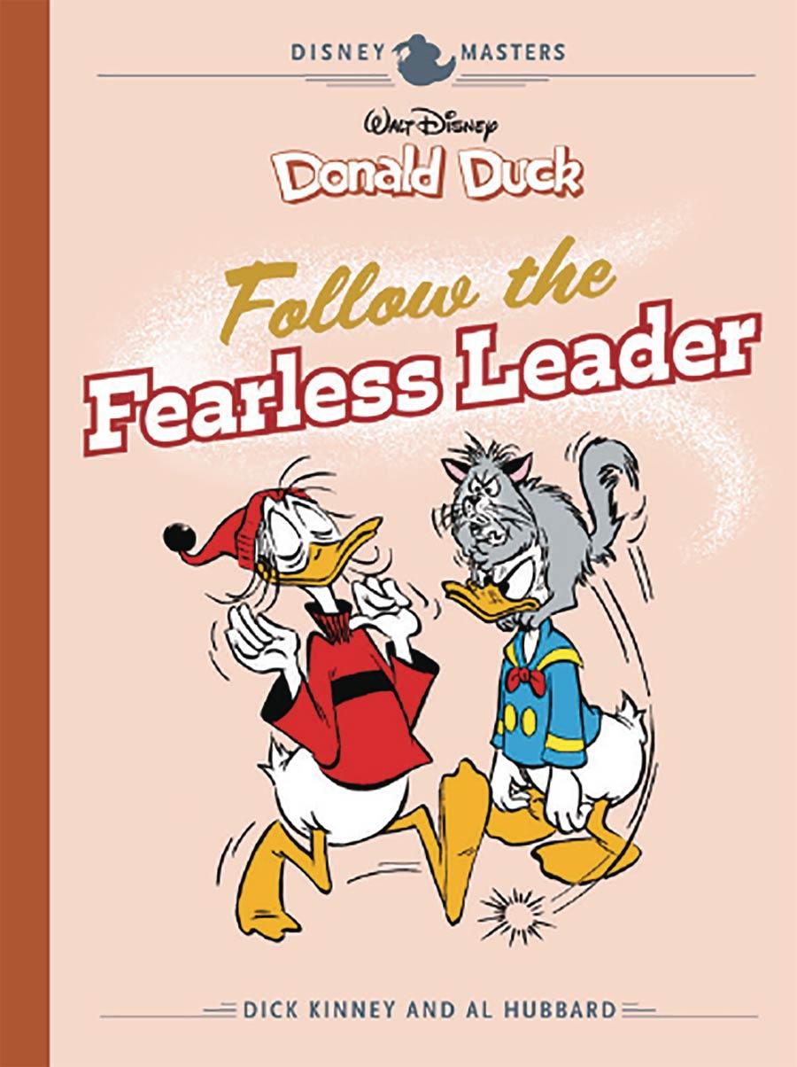 Disney Masters Vol 14 Dick Kinney & Al Hubbard Follow The Fearless Leader HC