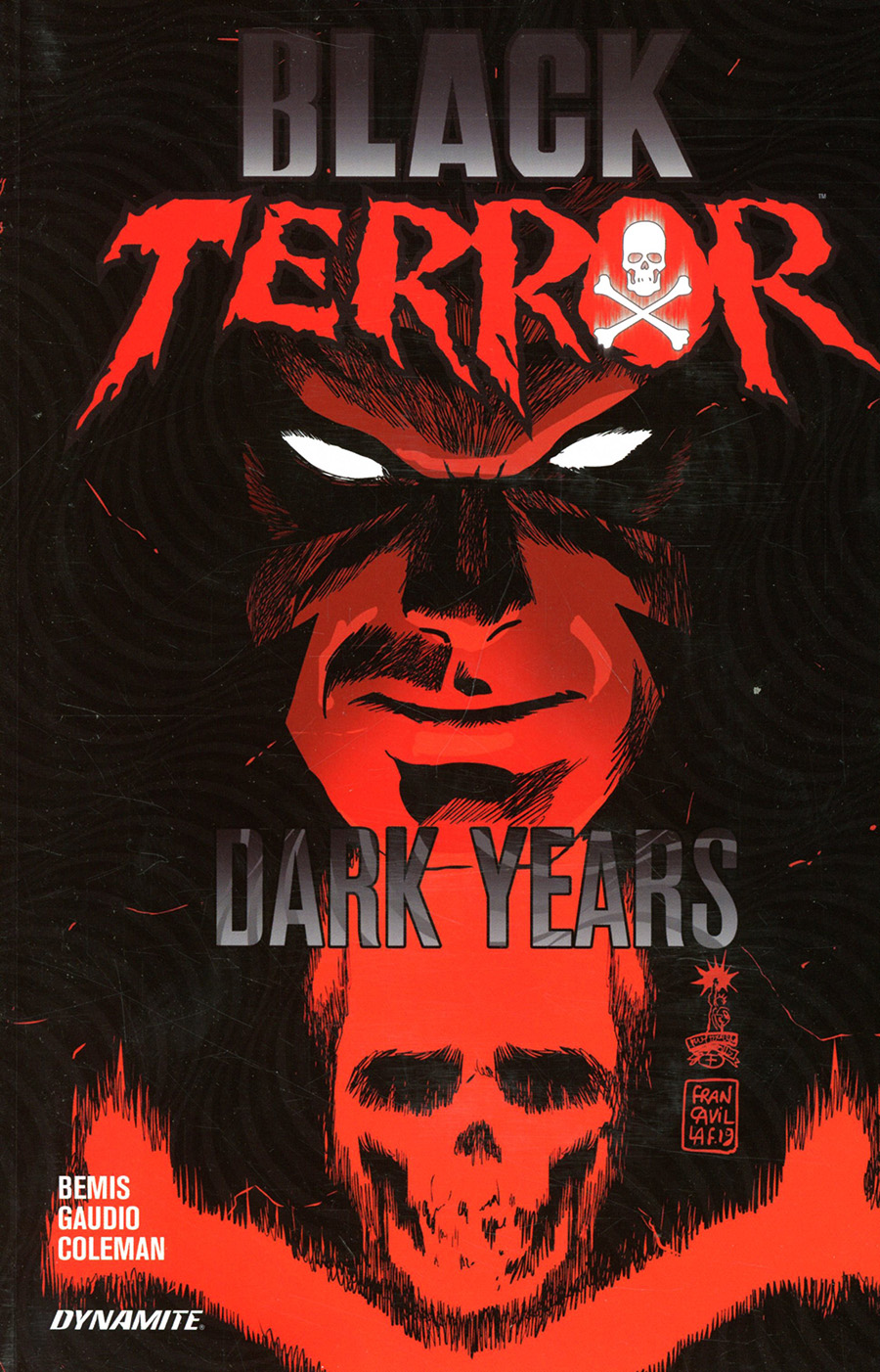 Black Terror Dark Years TP