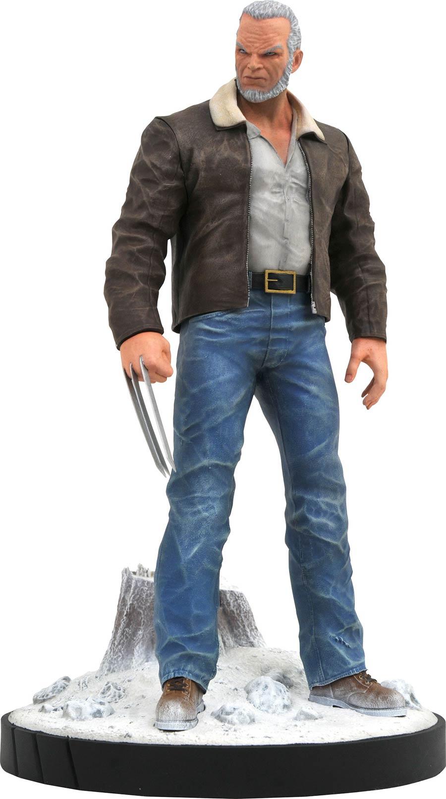 Marvel Comic Premier Collection Old Man Logan Statue