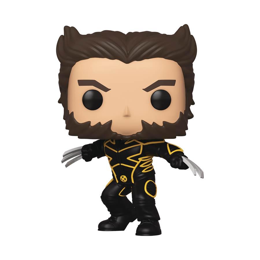 POP Marvel X-Men 20th Wolverine In Jacket Vinyl Bobble Head