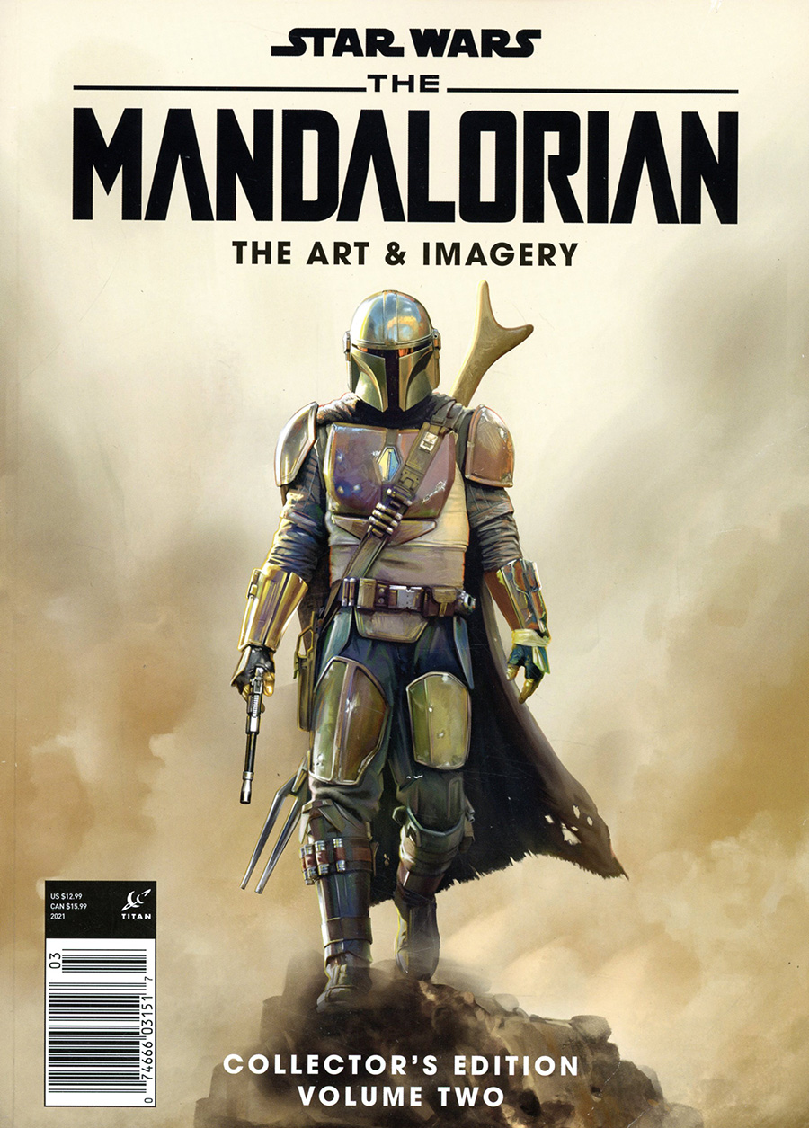 Star Wars The Mandalorian Art & Imagery Collectors Edition Vol 2 Magazine Previews Exclusive Edition