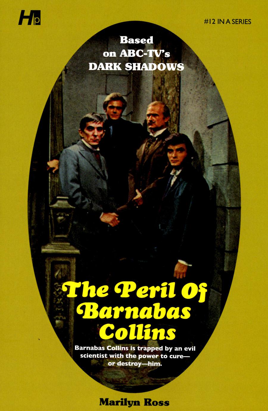 Dark Shadows Paperback Library Novel Vol 12 Peril Of Barnabas Collins TP