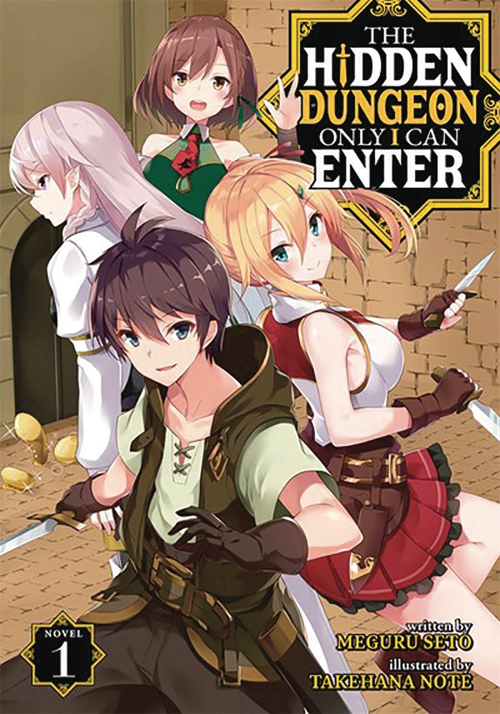 Hidden Dungeon Only I Can Enter Light Novel Vol 1