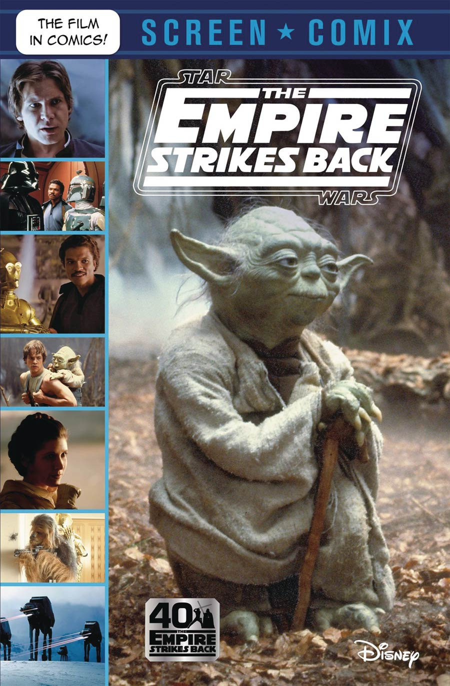 Star Wars The Empire Strikes Back Screen Comix TP