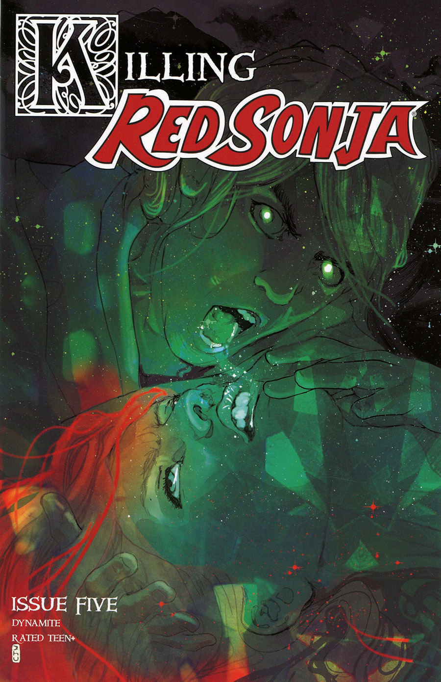 Killing Red Sonja #5 Cover H Incentive Christian Ward Alternate Color Variant Cover