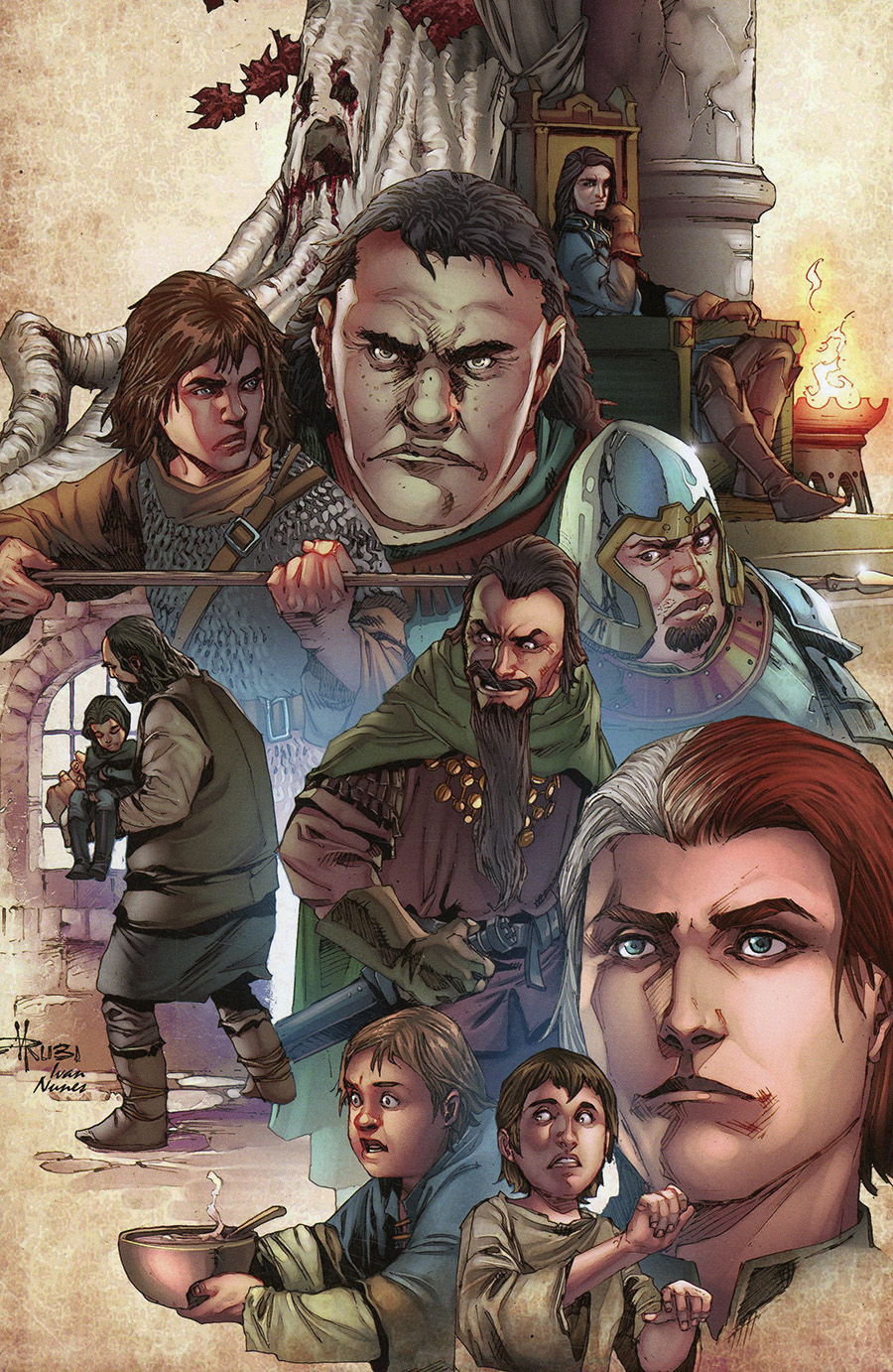 Game Of Thrones Clash Of Kings Vol 2 #7 Cover C Incentive Mel Rubi Virgin Cover